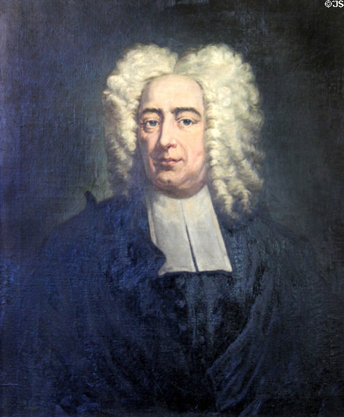 Cotton Mather's famous Brian May impersonation