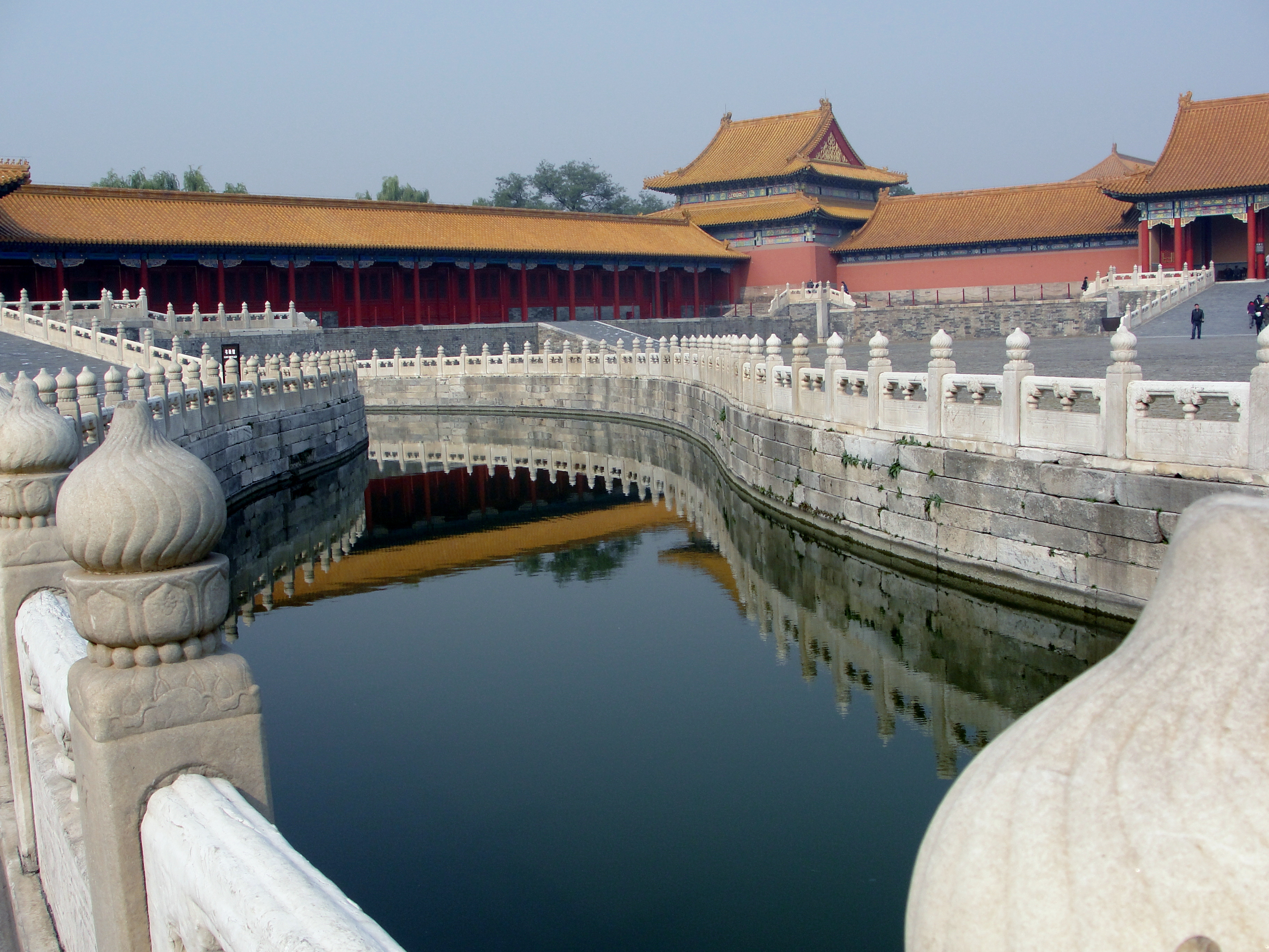 29 01 Reflections In A Moat Forbidden City Beijing