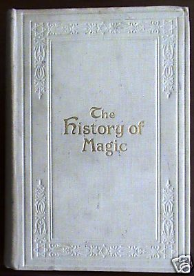 Eliphas Levi History of Magic White Cloth first edition
