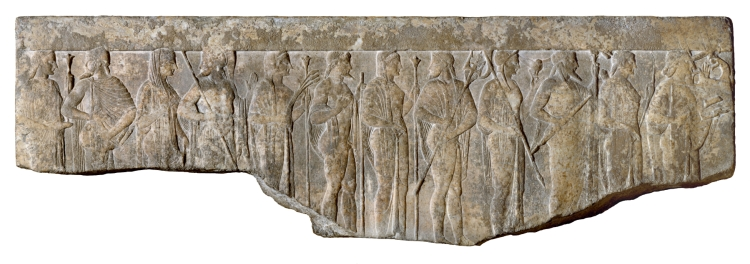 Greek_-_Procession_of_Twelve_Gods_and_Goddesses_-_Walters_2340