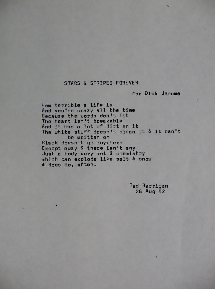 33 09 Ted Berrigan
