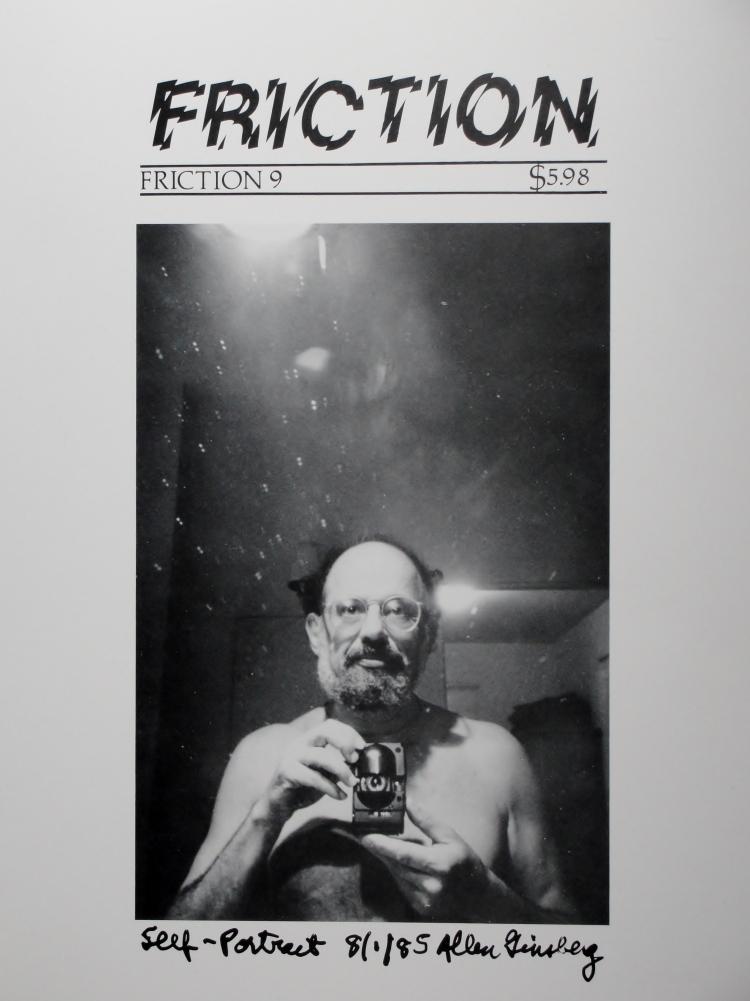 33 12 Allen Ginsberg, 1985, Boulder