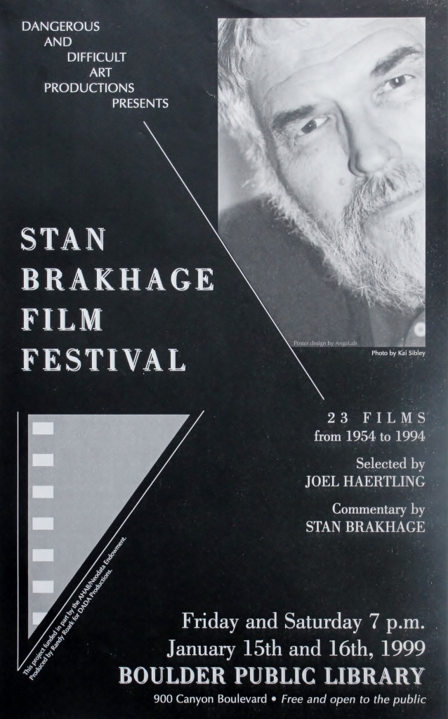33 75 Brakhage poster