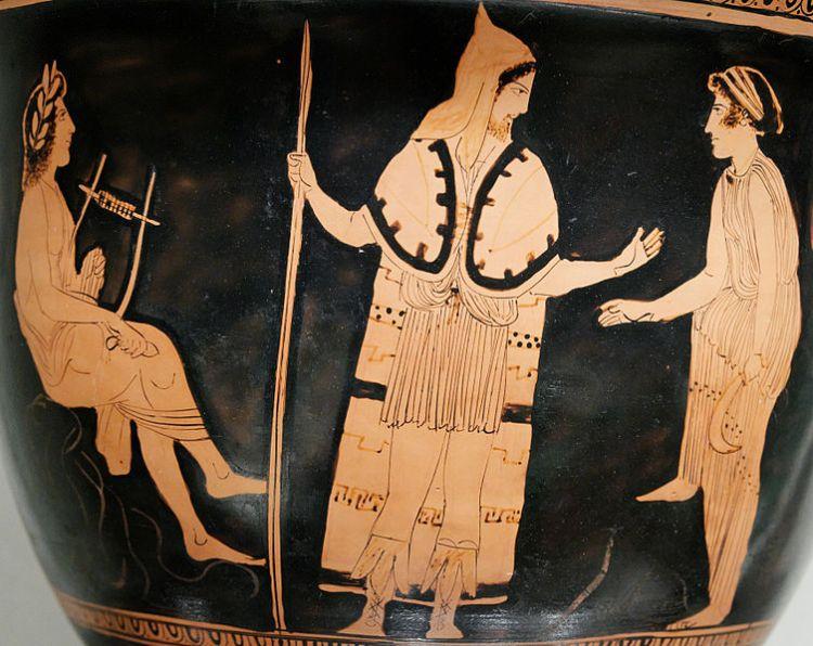 Orpheus_Thracians Attic vase 440bc