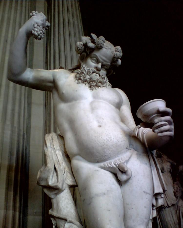 Sileno_(Museo_del_Louvre)