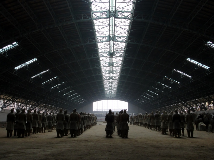 36 02 Warehouse, Xian, Terra Cotta Soldiers