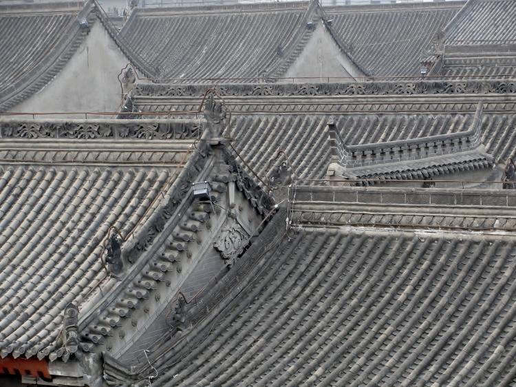 36 06 Rooftops, Xian