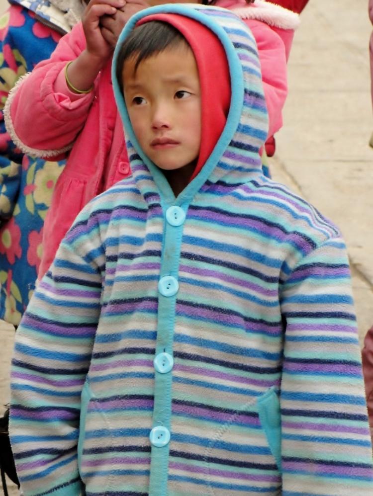 36 07 At the Gate Sun Orphanage Lhasa Tibet