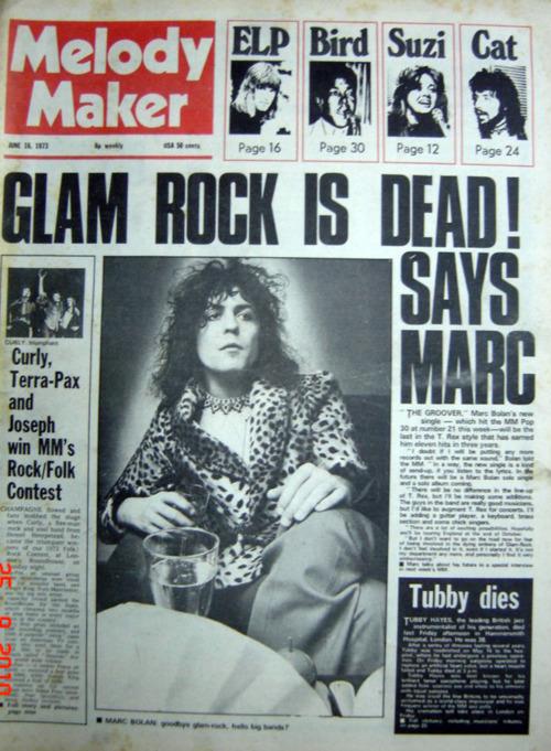 glam rock dead