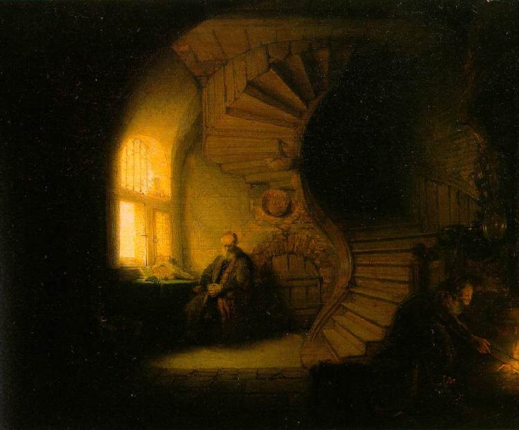 Image 5_Rembrandt_Philosopher in Meditation