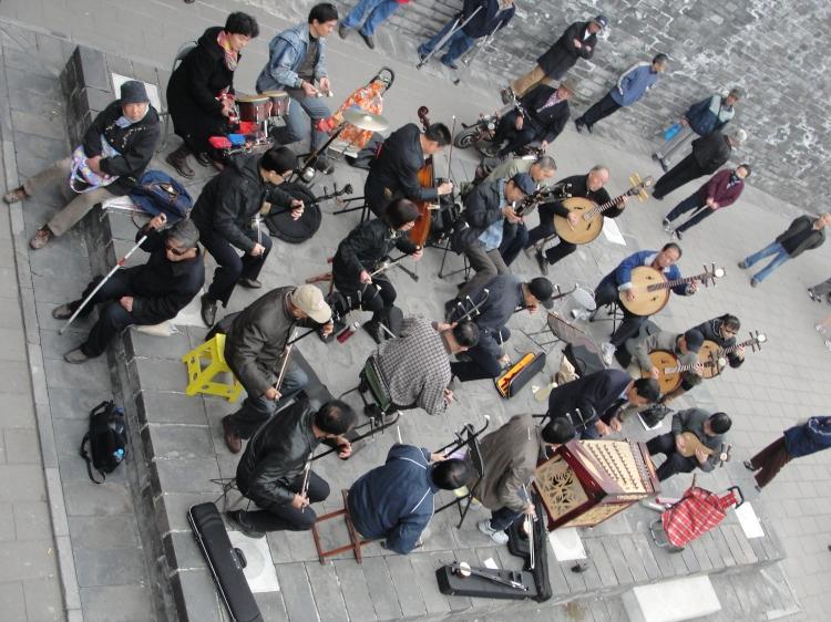 40-08 Sidewalk Symphony Xian