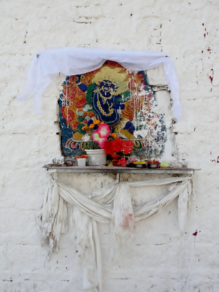 42-01 Roadside Shrine #7, On Kora, Lhasa, Tibet